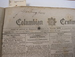 Columbian Centinel, Boston newspaper, 1796, Benjamin Russell