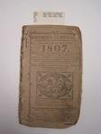 The Farmer's Almanac, Boston, 1807, David Carlisle,