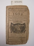 The Farmer's Almanac, Boston, 1809, David Carlisle