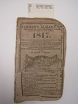 The Farmer's Almanac, Boston, 1817, T. W. White