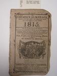 The Farmer's Almanac, Boston, 1815, E. G. House