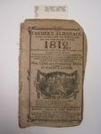 The Farmer's Almanac, Boston, 1812, E. G. House