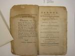 pamphlet, Boston, 1793, Thomas Adams
