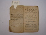 pamphlet, Boston, 1785, Adams and Nourse