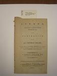 pamphlet, Boston, 1791,Joseph Belknap and Alexander Young