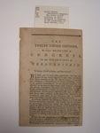 pamphlet, unknown, 1775unknown