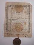 form, Milledgeville, GA, 1832, P.L. Robinson, state printer