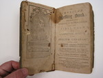 book, Worcester, MA, 1799, Isiah Thomas and Ebenezer T. Andrews