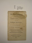 pamphlet, Boston, 1800