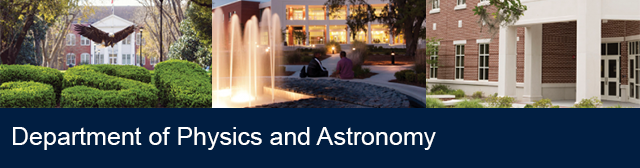 Physics and Astronomy Faculty Presentations