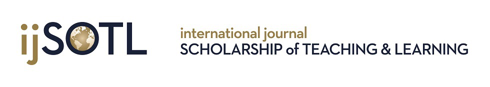 International Journal for the Scholarship of Teaching and Learning