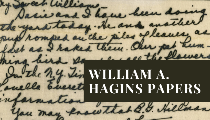 William A. Hagins Papers