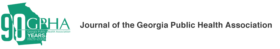Journal of the Georgia Public Health Association