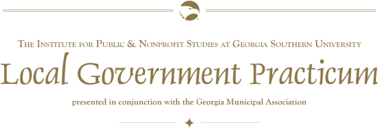 Georgia Municipal Association Practicum