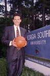 Georgia Southern University Basketball Slide #5 by Frank Fortune
