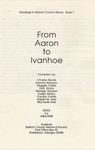 From Aaron to Ivanhoe