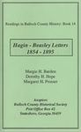 Hagin - Beasley Letters 1854 -1895 by Margie H. Barden, Dorothy H. Hope, and Margaret H. Prosser