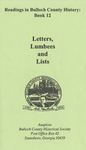 Letters, Lumbees, and Lists