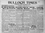 Bulloch Times (Statesboro News - Statesboro Eagle) [1921 - 1924]