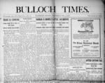 Bulloch Times [1908 - 1910]