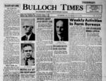 Bulloch Times (Statesboro News - Statesboro Eagle) [1952-1954]