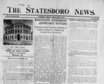 Statesboro News [1909-1913]