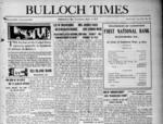 Bulloch Times [1913-1916]