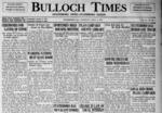 Bulloch Times (Statesboro News - Statesboro Eagle) [1935-1938]