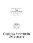 2012 Fall Commencement by Georgia Southern University