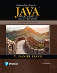 Introduction to Java Programming and Data Structures, Comprehensive Version, 12th Edition