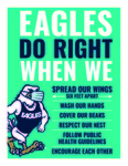 Eagles Do Right: Entry Way Sign by Georgia Southern University