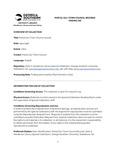 Portal (Ga.) Town Council records