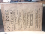 Norris Antidote title page 1-Folger STC 18658 by Kathleen M. Comerford
