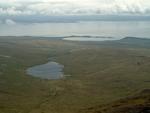 Abhainn Gleann an t Siob from Beinn a Chaolais landscape_1