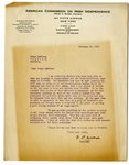 Letter to Joseph T. Lawless from Frank P. Walsh, Feb 27. 1920 by Frank P. Walsh