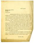 Letter to Frank P. Walsh from Joseph T. Lawless, March 1, 1920 by Joseph T. Lawless