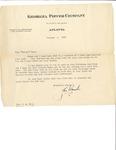 Letter to Laura Dorough Dyar from John Marsh, January 6, 1937 by John Marsh