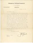 Letter to Laura Dorough Dyar from John Marsh, February 19, 1937 by John Marsh