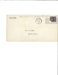 Letter to Laura Dorough Dyar from John Marsh, February 2, 1940 by John Marsh