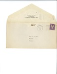 Letter to Laura Dorough Dyar from Peggy Mitchell Marsh, May 2, 1945 by Peggy Mitchell Marsh