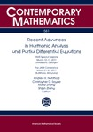Contemporary Mathematics: Recent Advances in Harmonic Analysis and Partial Differential Equations