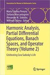 Harmonic Analysis, Partial Differential Equations, Complex Analysis, Banach Spaces, and Operator Theory: Celebrating Cora Sadosky's Life