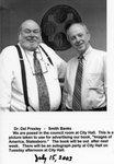 Del Presley & Smith Banks at the Statesboro City Hall