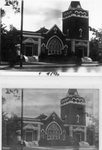 Two Photos of the Second First Methodist Church Building