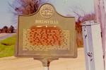 """Birdsville Marker by Samuel """"Fred"""" Hood"""