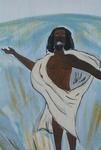 Man in white toga