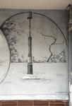 Lamp post graffiti