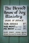 Blessed house of joy ministry