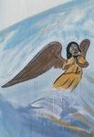 Angel graffiti