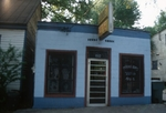 Blue store front